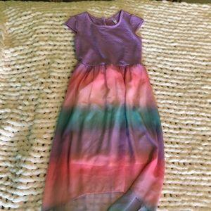 colorful beach dress